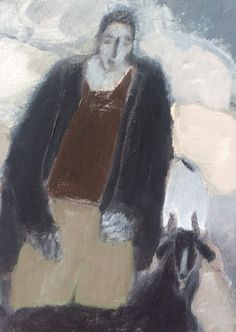 """""""Mexico / Boy with a Goat"""" by Gigi Mills 