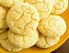 Нежное лимонное печенье на кефире. Просто тает во рту!