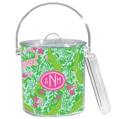 lilly pulitzer ice bucket $49