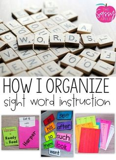 Learning sight words is a crucial piece of success in reading fluently. Here's how I track sight word knowledge so I can plan effective instruction. Sight Word Activities, Reading Activities, Teaching Reading, Reading Help, Learning, Teaching Sight Words, Sight Word Games, Guided Reading Table, Spelling Patterns
