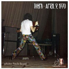 Tampa 1970 sexy ass Jimmy Page yummy.