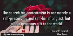 The search for contentment is not merely a selfpreserving and selfbenefiting Meaning  The search for contentment is not merely a self-preserving and self-benefiting act but also a generous gift to the world  For more #brainquotes http://ift.tt/28SuTT3  The post The search for contentment is not merely a selfpreserving and selfbenefiting Meaning appeared first on Brain Quotes.  http://ift.tt/2mhE6wf