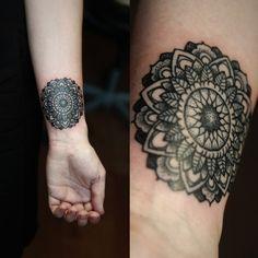 Mandala Tattoo Gallery Part 4 Picture Tattoos, Tattoo Photos, Tattoos Gallery, Tattoo Designs, Tattoo Ideas, Mandala Tattoo, New Tattoos, Creative, Inspiration