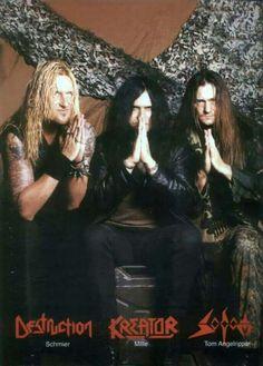 Destruction, Kreator & Sodon