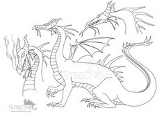 It's just a photo of Gratifying Maleficent Dragon Coloring Pages