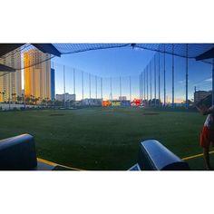 Beautiful evening at the new Top Golf in Las Vegas.... #Vegas #LasVegas #vegastrip #vegasnights #realtor #remax