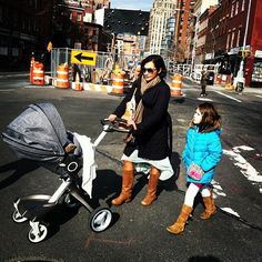 Stokke Xplory in NYC via THE NEW YORK MOM
