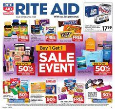 Rite Aid Weekly Ad Circular 4/23 - 4/29 United States #grocery #savings #RiteAid