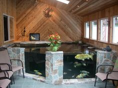 1000 ideas about indoor pond on pinterest indoor for Indoor koi pond designs