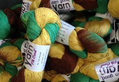 Rainforest: Silk Cloud Silk Yarn