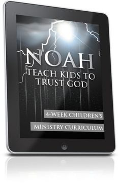 Free Children's Ministry Lesson that teaches kids about Noah.  This lesson is from the Noah 4-Week Children's Ministry Curriculum series.