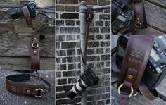 Leather Camera Strap - KAWA Pro Strap