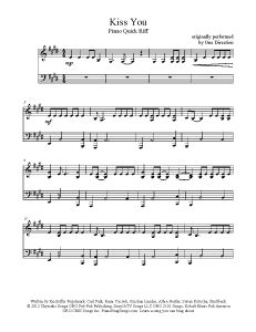 Kiss You – One Direction (easy key). Find more freen sheet music at www.PianoBra… Kiss You – One Direction (easy key). Find more freen sheet music at www. Viola Sheet Music, Easy Piano Sheet Music, Free Sheet Music, Piano Music, Music Sheets, Song Notes, Music Notes, Easy Keys, Piano Score