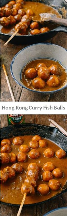 #Hong #Kong #Curry #Fish #Balls recipe by the Woks of Life