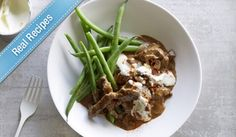 Easy Beef Stroganoff with Campbell's Real Stock