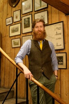 Walker Slater Edinburgh Edinburgh, Walker Slater, Men's Vests, Tea Cookies, Earl Grey Tea, Guy Style, Harris Tweed, Beards, Men's Fashion