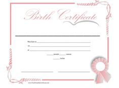 Birth certificate template with footprints google search family birth certificate template 04 yadclub Gallery