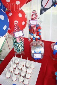 "Photo 1 of 16: Nautical 1st Birthday / Birthday ""Nautical Birthday Bash""   Catch My Party"