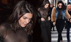 Braless Kendall Jenner displays her nipple pasties AGAIN in Parisher — Daily Mail Full Body Tattoo, Body Tattoos, Kendall Jenner Makeup, Female, Outfits, Mail Online, Daily Mail, Style, Romantic Dresses