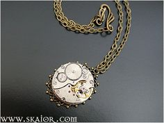 Steampunk Necklace, Gothic Jewelry, Victorian Wedding Jewellery