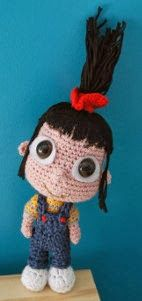Little Agnes from Despicable Me: free crochet pattern - Free Amigurumi Patterns