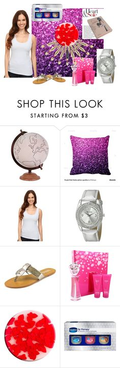 """""""Just being there."""" by utitito on Polyvore featuring Jamie Young, NIC+ZOE, XOXO, Christian Louboutin, Nails Inc. and Therapy"""