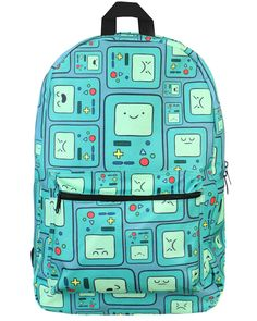 ADVENTURE TIME BEEMO BACKPACK (I WANT IT )!!!!!!!!