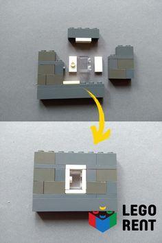 Naučte sa techniku stavania, ktorú používajú Lego profesionáli. Lego Architecture