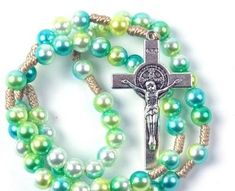 Whether you are looking for a baptism, first holy communion, confirmation, quinceanera, reconciliation, memorial, or just because gift, we have the perfect rosary for you! World Vision International, St Benedict Cross, English Alphabet Letters, Rosary Necklace, Rosary Catholic, Just Because Gifts, First Holy Communion, No Name, Confirmation
