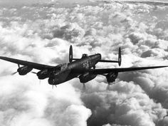 Lancaster of no. 619 Squadron RAF flew Lancaster bombers from bases in Lincolnshire. 619 Sqn was disbanded at RAF Skellingthorpe on 18 July 1945 Aircraft Images, Ww2 Aircraft, Military Helicopter, Military Aircraft, Ala Delta, Air Force Bomber, Lancaster Bomber, Ww2 Planes, Dresden