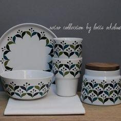 retro style ceramics