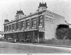 [Prahran Technical School] Technical Schools, The 'burbs, Melbourne Victoria, St Kilda, History Teachers, Historic Homes, Historical Sites, Colleges, Landscape Photos