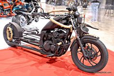 Some motorbike eye candy from the January 2013 North American International Motorcycle Supershow in Toronto.