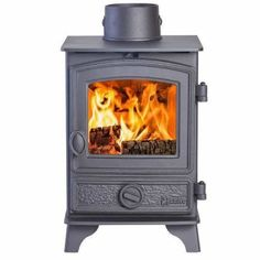 Hunter Hawk 3 - The Hunter Hawk 3 stove is the smallest stove in the Hunter stoves family. Due to it's petite dimensions the Hawk 3 can be squeezed into the smallest places. The Hawk 3 is available as wood-burning only or as a multi-fuel stove. Hunter Stoves, Double Sided Stove, Small Stove, Wood Fuel, Multi Fuel Stove, Contemporary Doors, Chimney Sweep, Traditional Doors, Thing 1