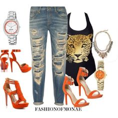 Street Chic Style Polyvore