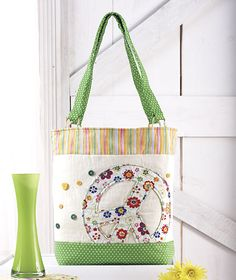 Peace Sign Tote Bags|ABC Distributing