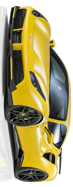 The Ferrari 488 GTB was unveiled at the 2015 Geneva Motor show and is currently in production. The car is an update for the Ferrari 458 with the 488 sharing some of the design an components. Ferrari 488, 488 Gtb, Top Luxury Cars, Supersport, Sweet Cars, Mellow Yellow, Hot Cars, Maserati, Exotic Cars