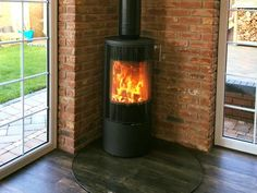 Welcome to Yorkshire Stoves and Fireplaces, specialists in the installation of wood burners, multi-fuel stoves, and a wide range of gas and electric models. Gas Stove Fireplace, Old Fireplace, Modern Fireplace, Fireplace Design, Fireplaces, Marble Hearth, Granite Hearth, Slate Hearth, Corner Log Burner