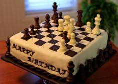 Chess Board Birthday Cake Designs Chess Board Cake Cakes In 2019 Chess Cake Cake Chess Crazy Cakes, Fancy Cakes, Chess Cake, Yoda Cake, Video Game Cakes, Checkerboard Cake, Pinterest Cake, Cake Craft, Birthday Cakes For Men