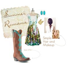 Summer Wedding Style featuring @oldgringoboots and @kendra_scott  #weddingboots #turquoise #cowgirl