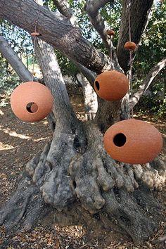 Ceramic Bird House - Stan Bitters