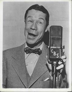 Joe E Brown Lux Radio Theater Press Photo 1935