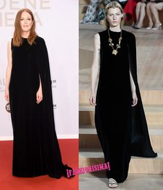 Julianne Moore de Valentino Couture en 2016 Goldene Kamera Awards de Berlín