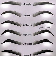 WEBSTA @makeupaddictioncosmetics  Which brow shape are you? I am certainly a soft arch!  Let us know yours below and tag a friend too