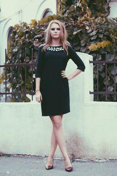 Little black dress. Shop: www.theitem.co  Photo: https://www.facebook.com/SimonaNaciadis