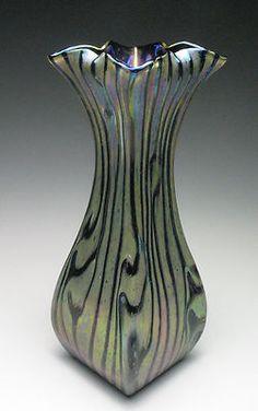 Rindskopf Persia Art Nouveau Glass Vase