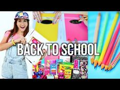 DIY Back to School Supplies and Organization | JENerationDIY - YouTube
