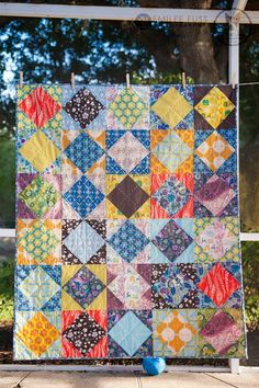 --> great pattern for AMH fabrics!