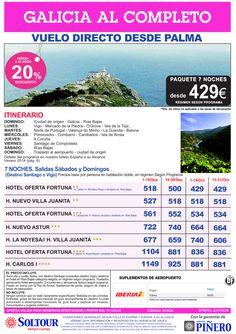 Galicia al Completo, salidas desde Palma de Mallorca - Septiembre y Octubre ultimo minuto - http://zocotours.com/galicia-al-completo-salidas-desde-palma-de-mallorca-septiembre-y-octubre-ultimo-minuto/