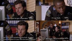 Psych - Gus went to college!